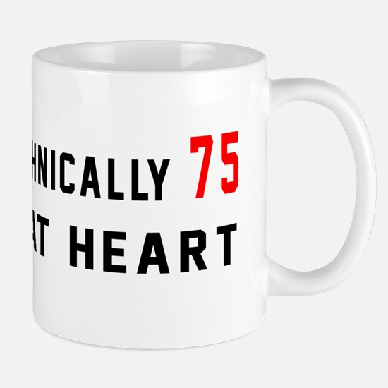 75 Birthday Designs Mug