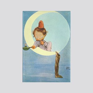 BOY IN THE MOON Rectangle Magnet