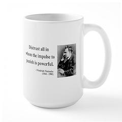 Nietzsche 17 Large Mug