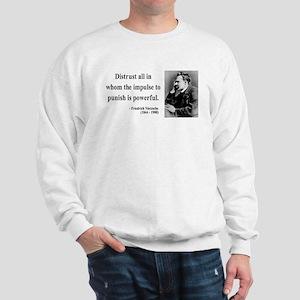 Nietzsche 17 Sweatshirt