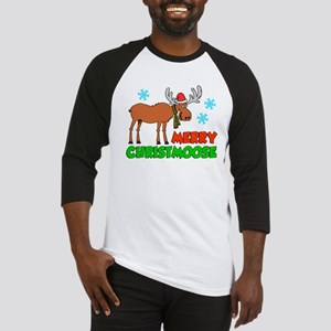 Merry Christmoose Baseball Jersey