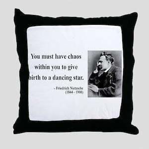 Nietzsche 16 Throw Pillow
