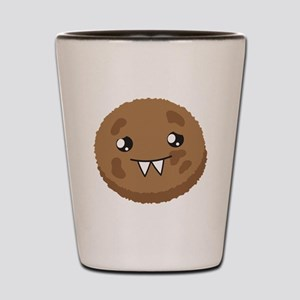 A cute COOKIE Monster Shot Glass