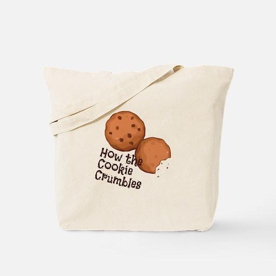 Cookies Crumbles Tote Bag