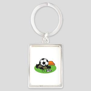 Soccer Gear Keychains