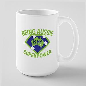 Being Aussie is my Superpower! Mugs
