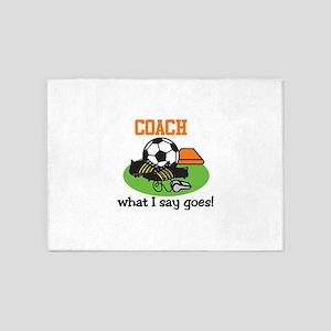 Coach 5'x7'Area Rug