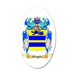 Grigore 20x12 Oval Wall Decal