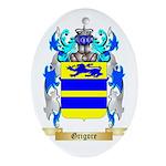 Grigore Ornament (Oval)