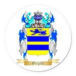 Grigolli Round Car Magnet