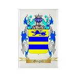 Grigoli Rectangle Magnet (100 pack)