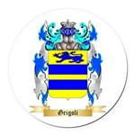Grigoli Round Car Magnet