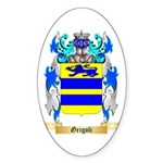 Grigoli Sticker (Oval 50 pk)