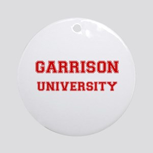 GARRISON UNIVERSITY Ornament (Round)
