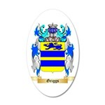 Griggs 35x21 Oval Wall Decal