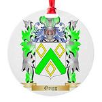 Grigg Round Ornament