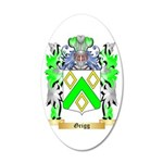 Grigg 35x21 Oval Wall Decal