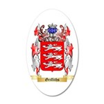 Griffiths 20x12 Oval Wall Decal
