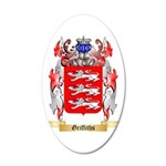 Griffiths 35x21 Oval Wall Decal