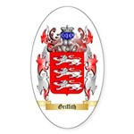 Griffith Sticker (Oval 50 pk)