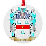 Grieve Round Ornament