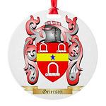 Grierson Round Ornament