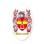 Grierson Oval Car Magnet