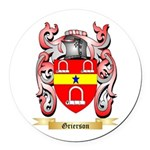 Grierson Round Car Magnet