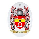 Grierson Ornament (Oval)