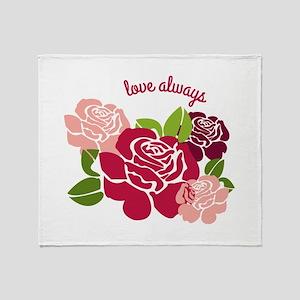 Love Always Throw Blanket