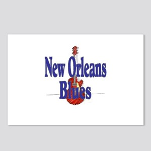 New Orleans Blues, Guitar Postcards (Package of 8)