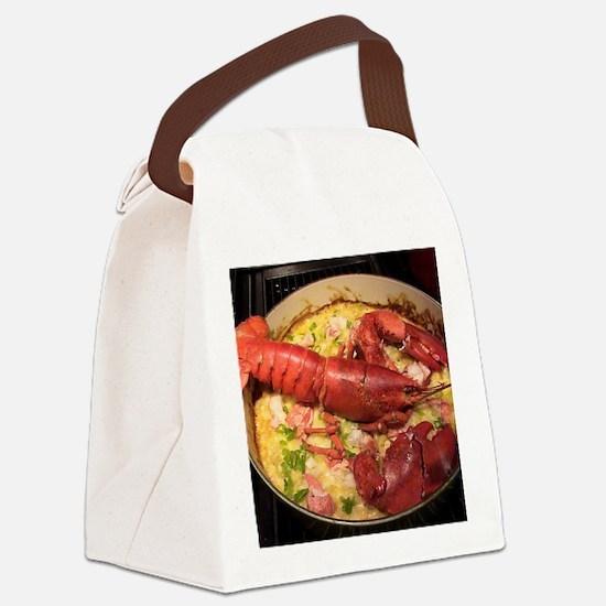 Lobster Stew ala Loretta Canvas Lunch Bag