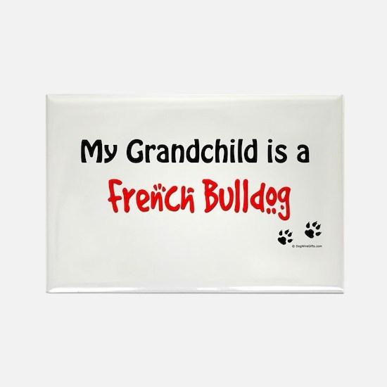 Frenchie Grandchild Rectangle Magnet