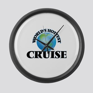World's hottest Cruise Large Wall Clock