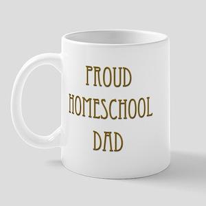 Proud Homeschool Dad 15 Mug