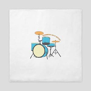 Drummers Better Queen Duvet