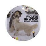 Figure Skating WOOF Games 2014 Ornament (Round)