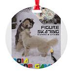 Figure Skating WOOF Games 2014 Ornament
