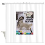 Figure Skating WOOF Games 2014 Shower Curtain