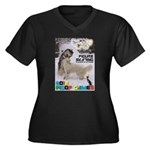 Figure Skating WOOF Games 2014 Plus Size T-Shirt