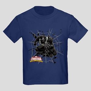 Agent Venom Web Kids Dark T-Shirt