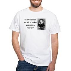 Nietzsche 13 White T-Shirt