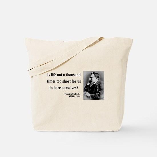 Nietzsche 12 Tote Bag