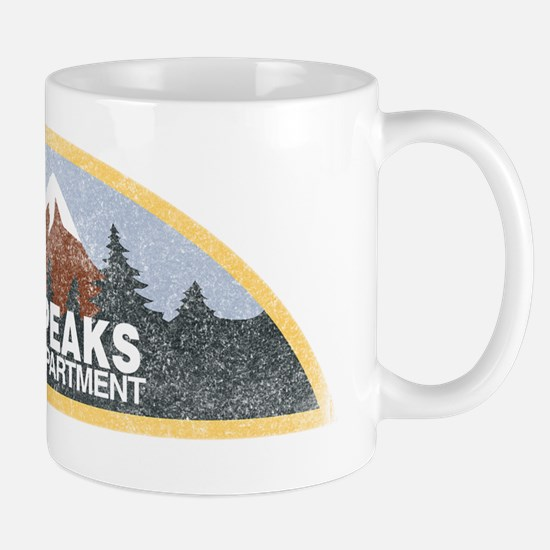 Vintage Twin Peaks Sheriff Department Mug