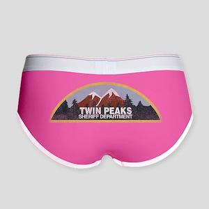 Vintage Twin Peaks Sheriff Depar Women's Boy Brief