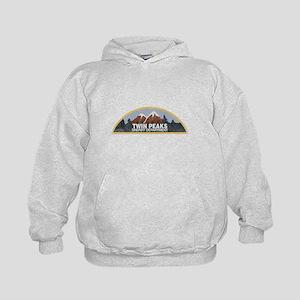 Vintage Twin Peaks Sheriff Department Kids Hoodie