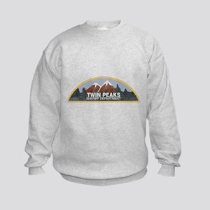 Vintage Twin Peaks Sheriff Departm Kids Sweatshirt