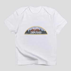 Vintage Twin Peaks Sheriff Departme Infant T-Shirt