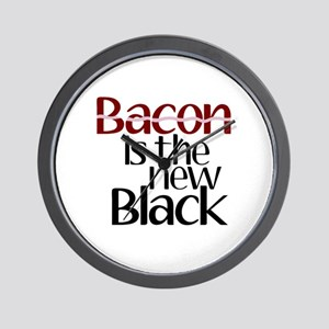 Bacon Is The New Black Wall Clock