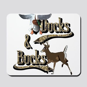 Ducks & Bucks Mousepad